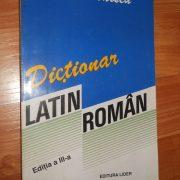 dictionar latin