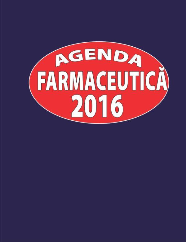 Agenda farmaceutica 2016 - Teodora Costea